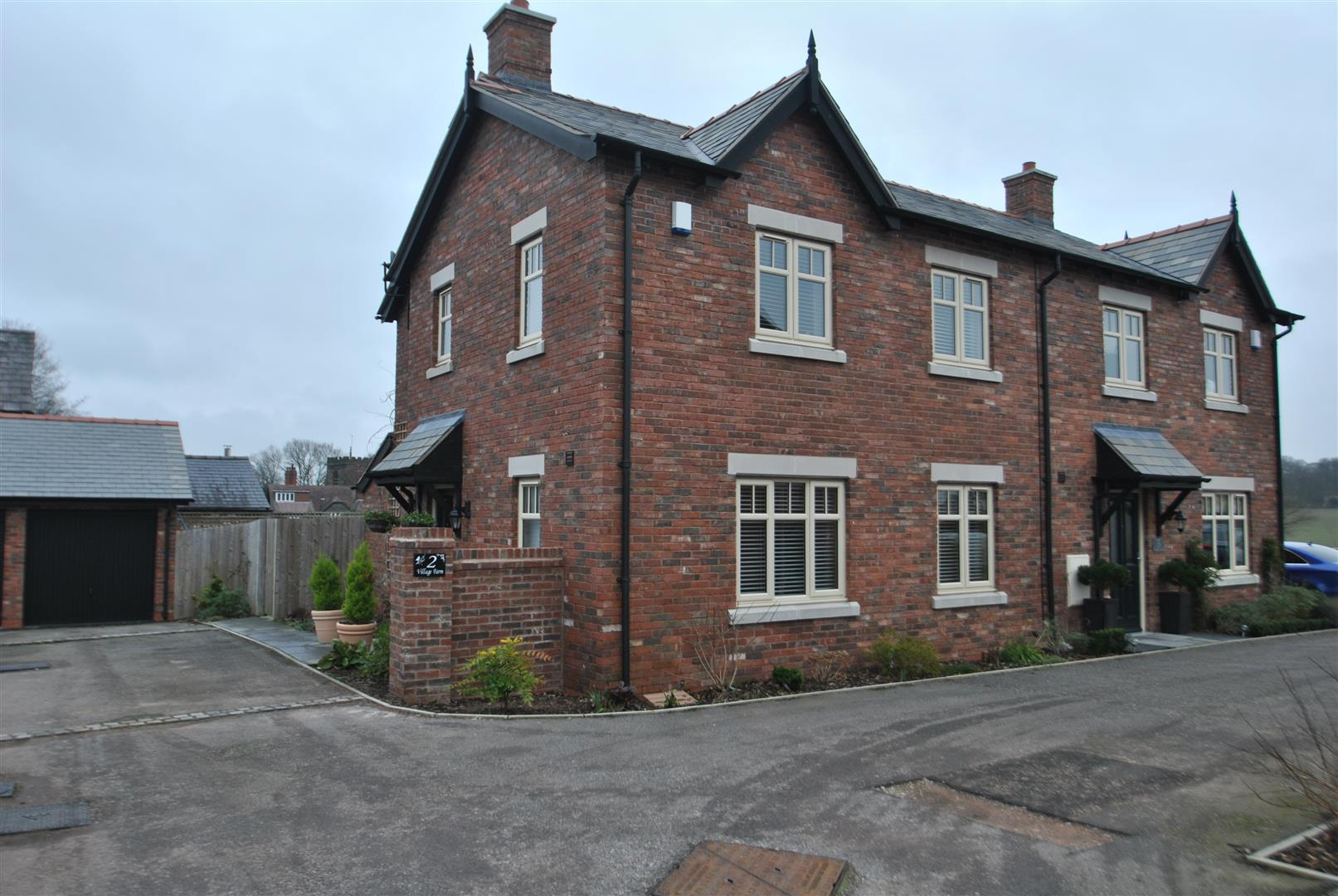 3 Bedrooms Semi Detached House for sale in Chester Road, DARESBURY, Warrington, WA4